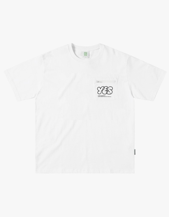 yeseyesee Y.E.S Pocket Tee - White | HEIGHTS. | 하이츠 온라인 스토어