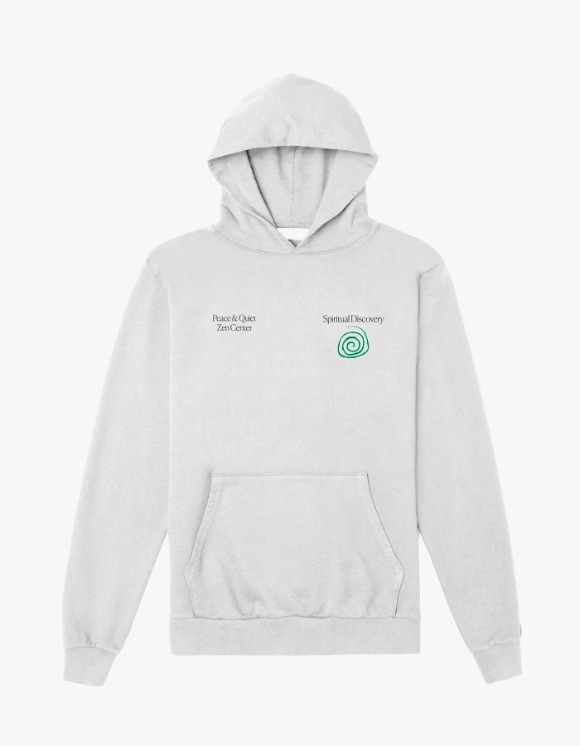 Museum Peace & Quiet Spiritual Discovery Hoodie - Grey | HEIGHTS. | 하이츠 온라인 스토어