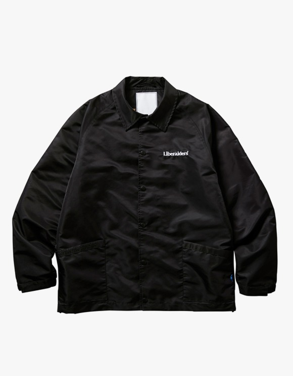 Liberaiders OG Embroidery Coach Jacket - Black | HEIGHTS. | 하이츠 온라인 스토어