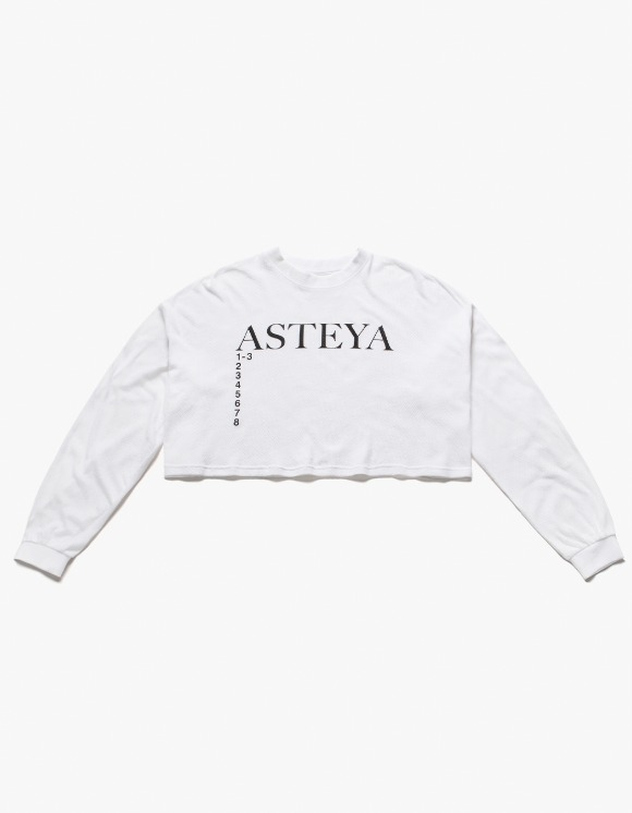 Heights. x s/e/o ASTEYA Crop Top - White | HEIGHTS. | 하이츠 온라인 스토어