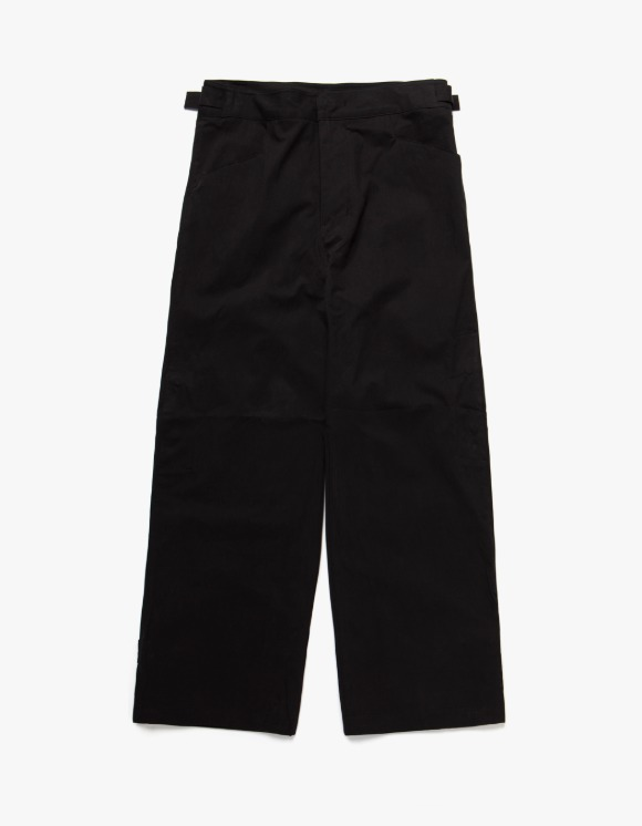 Mudule Q1 : Snap Trousers - Black | HEIGHTS. | 하이츠 온라인 스토어