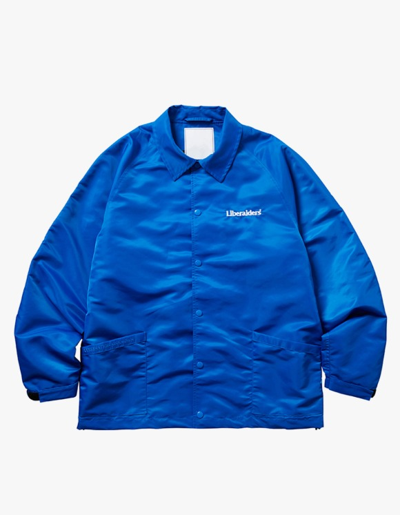 Liberaiders OG Embroidery Coach Jacket - Blue | HEIGHTS. | 하이츠 온라인 스토어