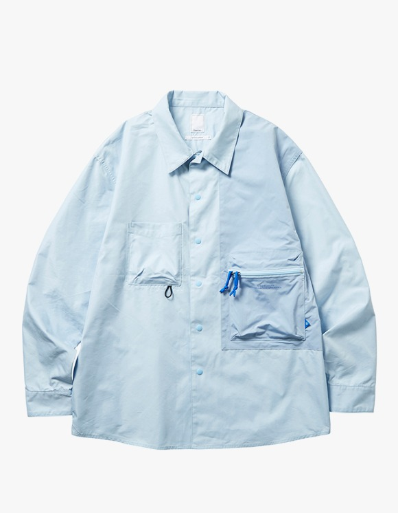 Liberaiders Multi Pocket T/C Shirt - Blue | HEIGHTS. | 하이츠 온라인 스토어