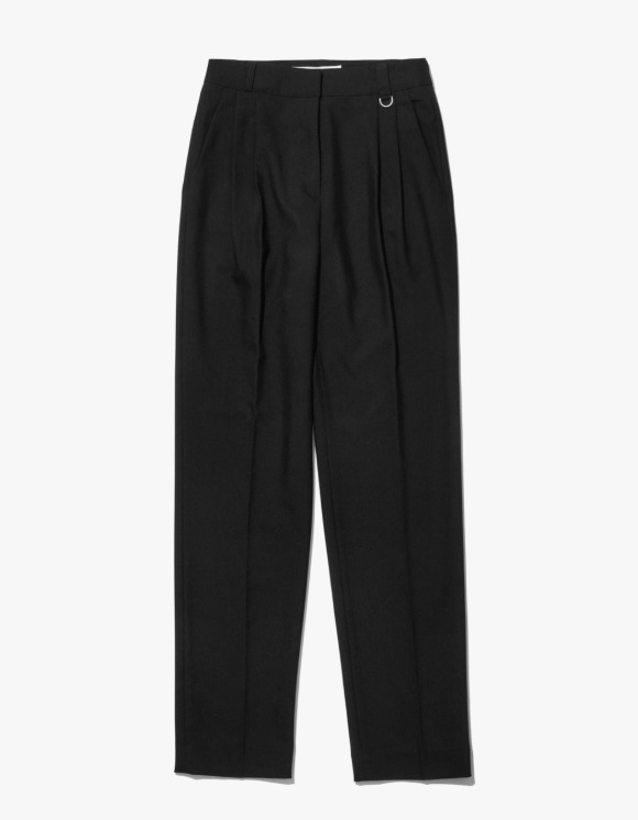 MISCHIEF Project Mago Tailored Pintuck Trousers - Black | HEIGHTS. | 하이츠 온라인 스토어