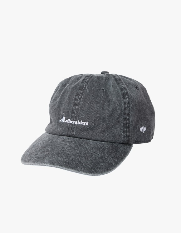 Liberaiders Overdyed 6 panel Cap - Black | HEIGHTS. | 하이츠 온라인 스토어