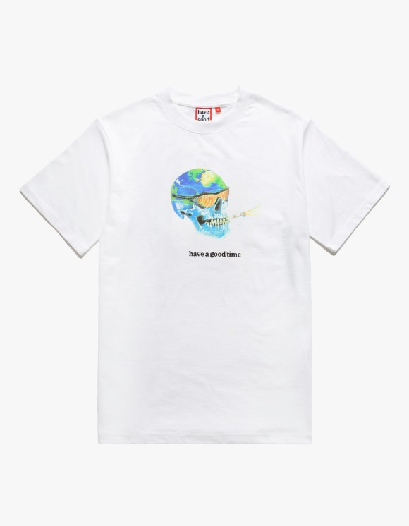 have a good time Freedom S/S Tee - White | HEIGHTS. | 하이츠 온라인 스토어