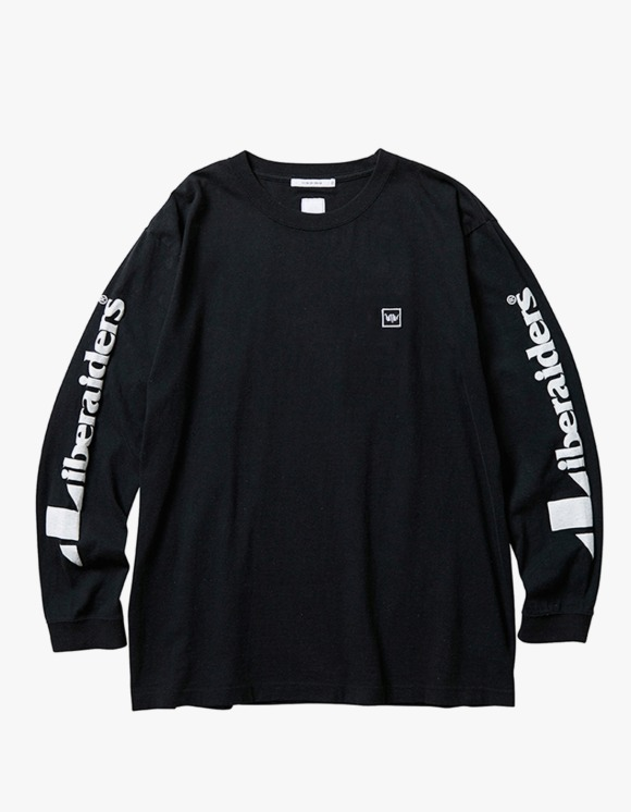 Liberaiders Triangle Logo L/S Tee - Black | HEIGHTS. | 하이츠 온라인 스토어