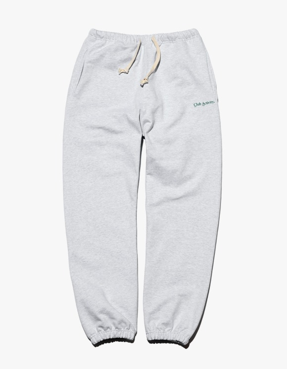 Club Activity Classic Logo Sweat Pants - Light Grey | HEIGHTS. | 하이츠 온라인 스토어