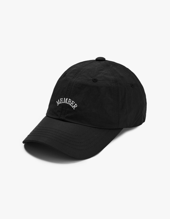 Club Activity Member Cap - Black | HEIGHTS. | 하이츠 온라인 스토어
