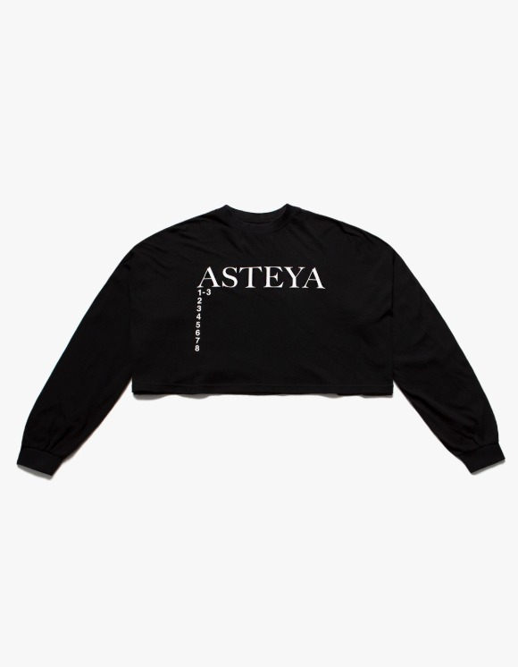 Heights. x s/e/o ASTEYA Crop Top - Black | HEIGHTS. | 하이츠 온라인 스토어
