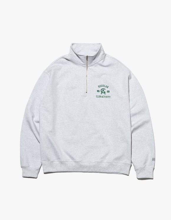 Club Activity Regular Pullover Sweat - Light Grey | HEIGHTS. | 하이츠 온라인 스토어