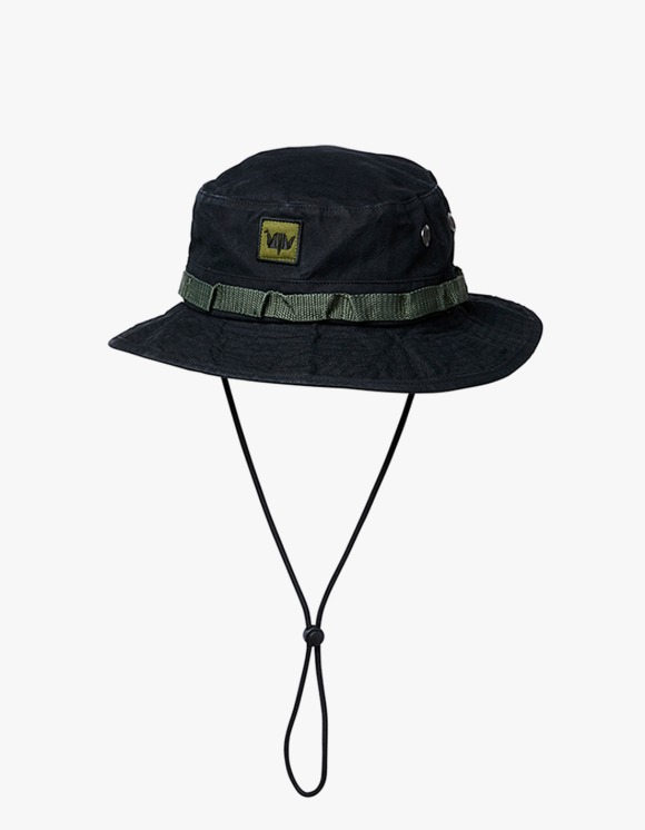 Liberaiders Washed Canvas Jungle Hat - Black | HEIGHTS. | 하이츠 온라인 스토어