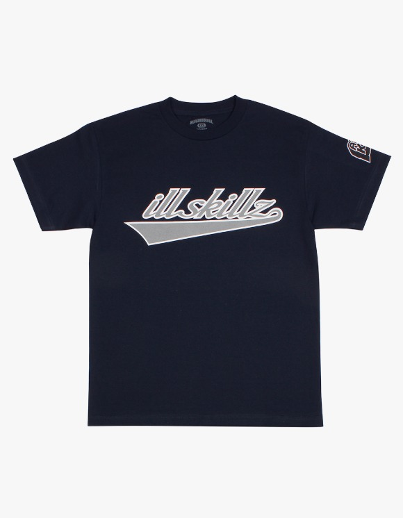 BHXXL ILL SKILLZ S/S Tee - Navy | HEIGHTS. | 하이츠 온라인 스토어