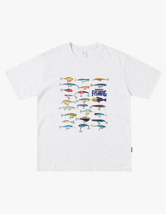 yeseyesee Fishing Tee - Light Gray | HEIGHTS. | 하이츠 온라인 스토어