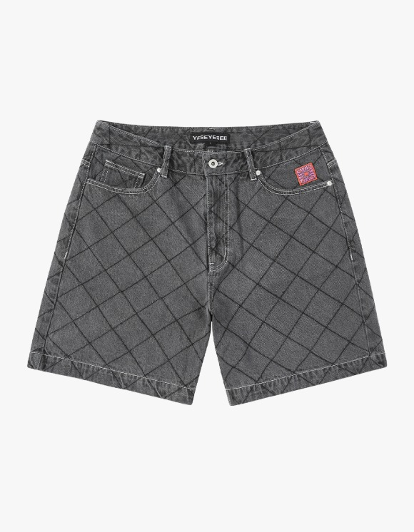 yeseyesee Net Denim Shorts - Black | HEIGHTS. | 하이츠 온라인 스토어