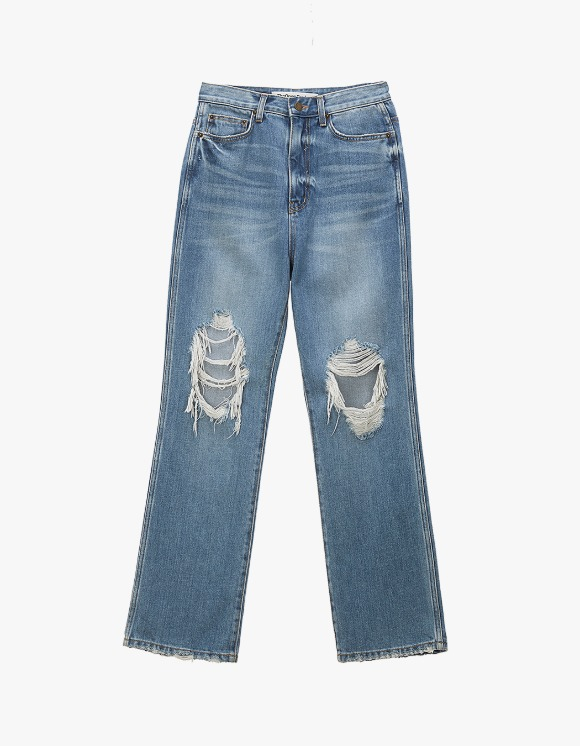 TheOpen Product Distressed Knee Jeans - Blue | HEIGHTS. | 하이츠 온라인 스토어