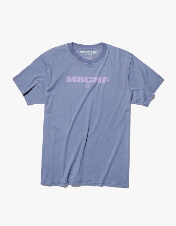 MISCHIEF Logo Semi Sheer Cotton S/S Tee - Navy | HEIGHTS. | 하이츠 온라인 스토어