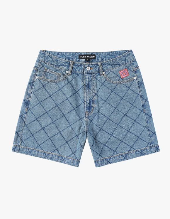 yeseyesee Net Denim Shorts - Blue | HEIGHTS. | 하이츠 온라인 스토어