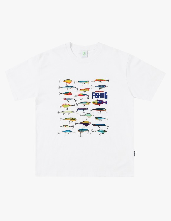 yeseyesee Fishing Tee - White | HEIGHTS. | 하이츠 온라인 스토어
