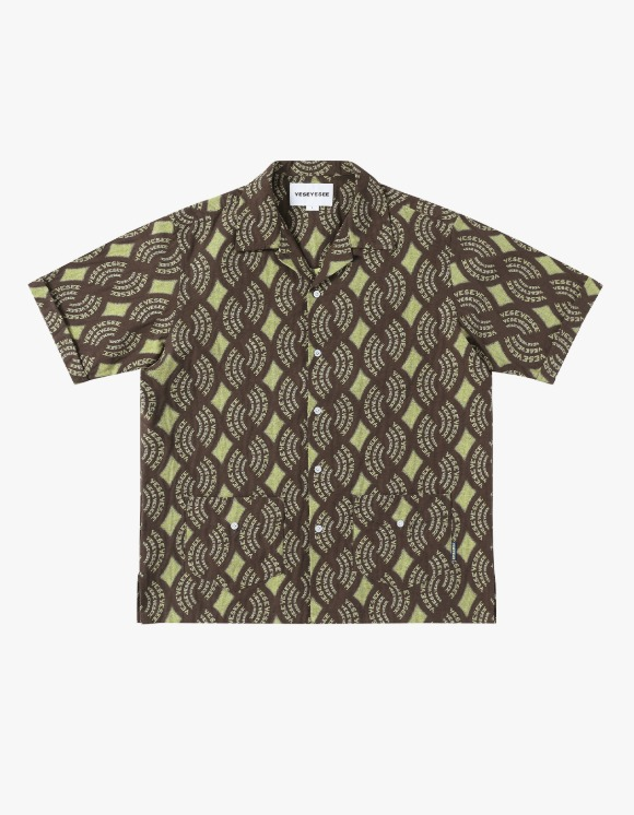yeseyesee Y.E.S Jaquard Shirts - Brown | HEIGHTS. | 하이츠 온라인 스토어