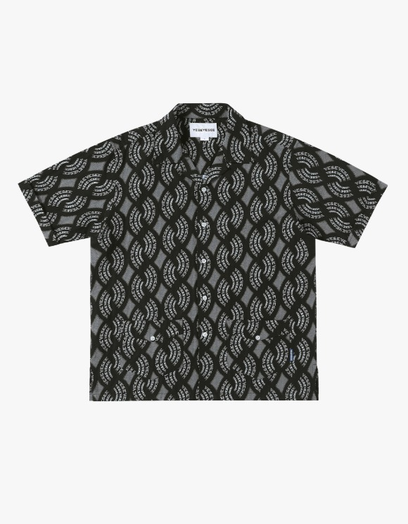 yeseyesee Y.E.S Jaquard Shirts - Black | HEIGHTS. | 하이츠 온라인 스토어