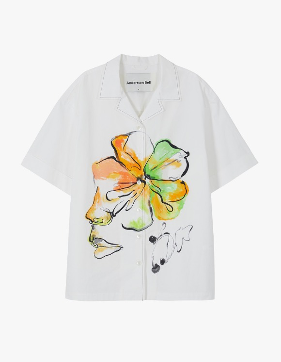 Andersson Bell Fleur Printed Shirts - White | HEIGHTS. | 하이츠 온라인 스토어