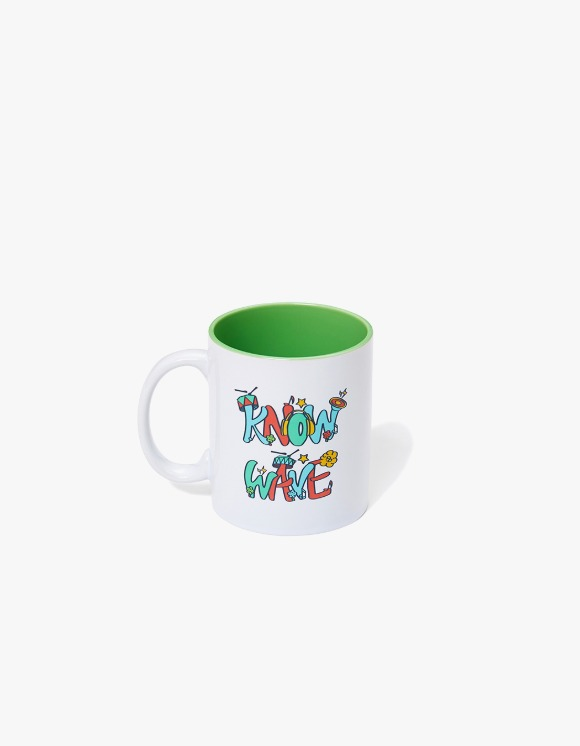 Know Wave Music Session Ceramic Mug Cup - Whie | HEIGHTS. | 하이츠 온라인 스토어