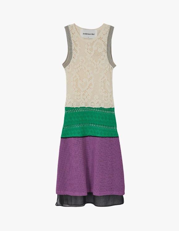 Andersson Bell Summer Knit Like See-Through Dress - Ivroy | HEIGHTS. | 하이츠 온라인 스토어